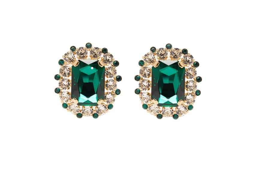 أقراط من علامة دولتشي أند غابانا Dolce & Gabbana