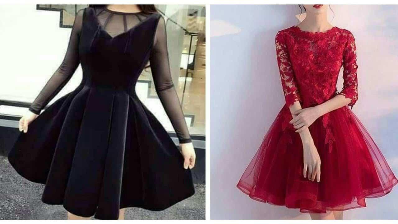 أجمل تصاميم الفساتين القصيرة عليك معرفتها