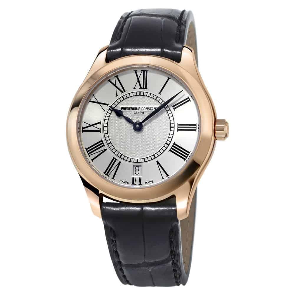 ساعة Ladies Classics Quartz من ماركة فريدريك كونستانت Frederique Constant