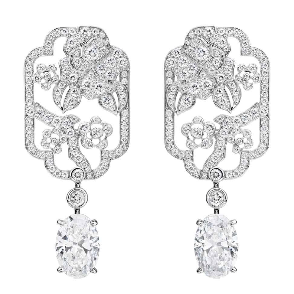 أحدث أقراط الماس عليك اختيار احداها