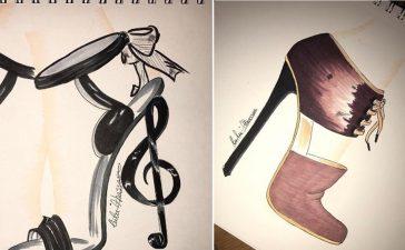 قصة نجاح لولو الحسن مصممة الأحذية