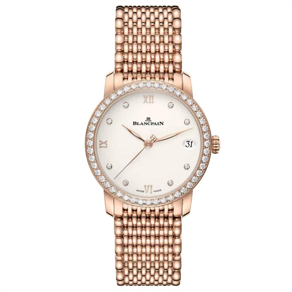 ساعة اليد Villeret Date من ماركة بلانسبان Blancpain