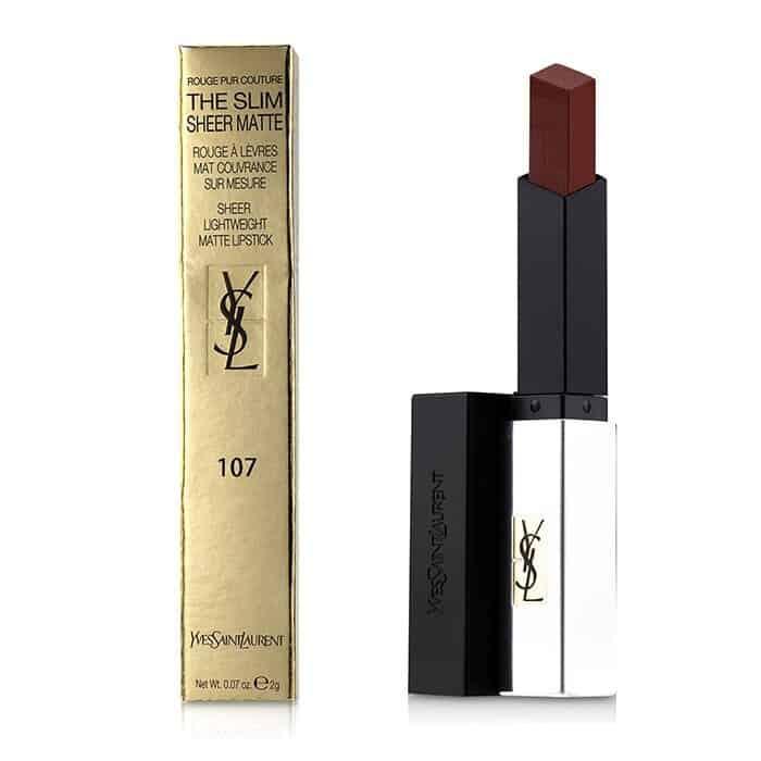 منتج أحمر الشفاه Rouge Pur Couture Matte Bare Burgundy من ماركة YSL