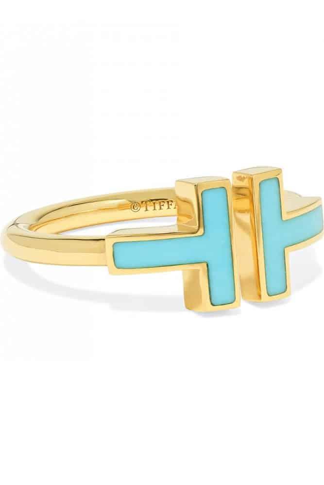 خاتم T for Two من علامة تيفاني Tiffany & Co