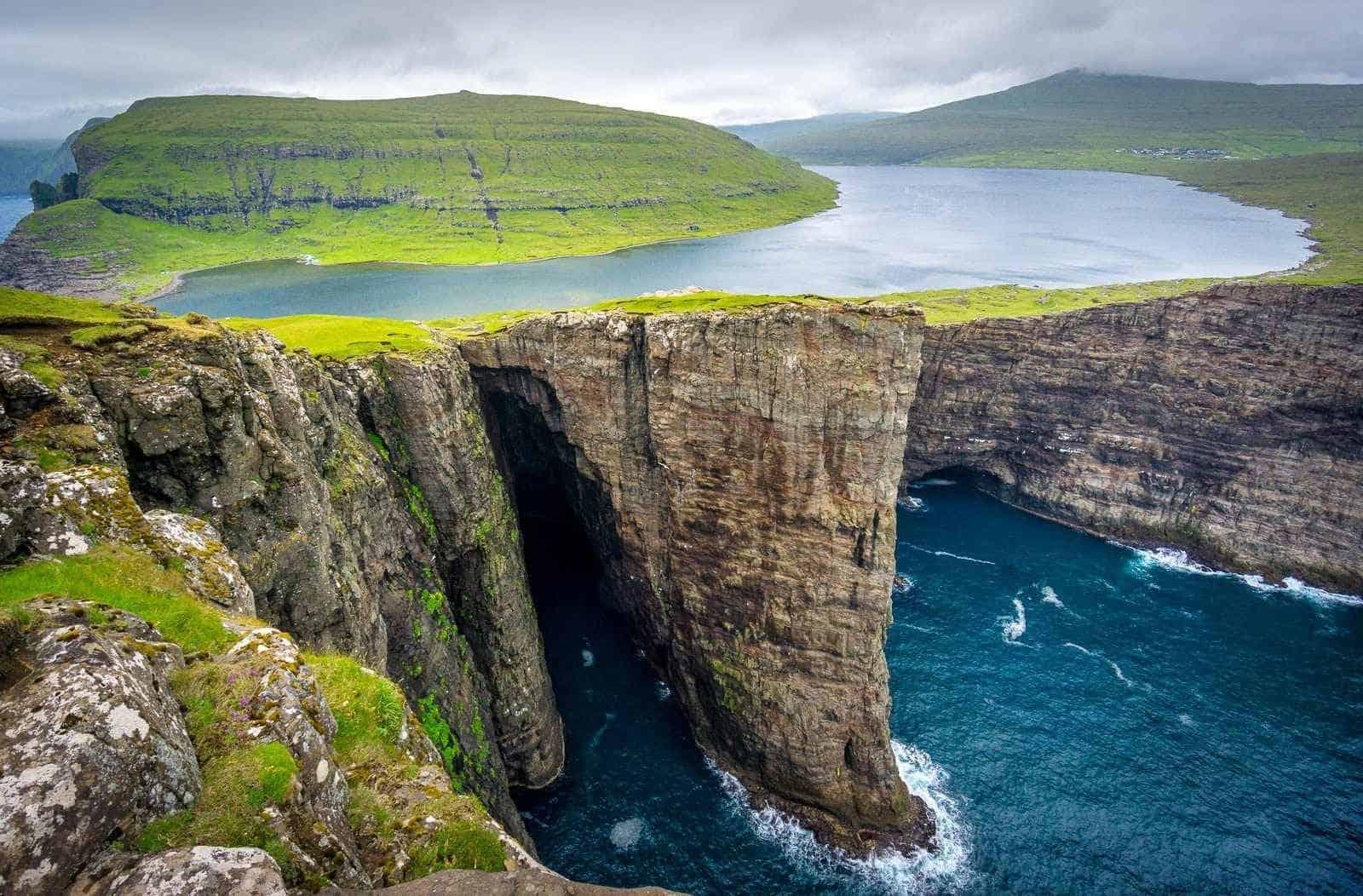 جزر فارو لاكتشاف المناطق الطبيعية