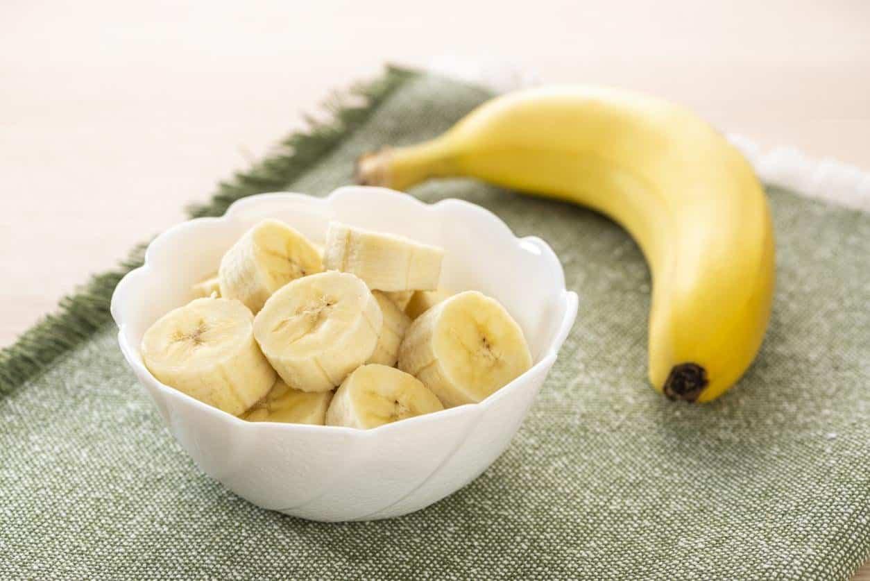 خلطة الموز وحليب جوز الهند