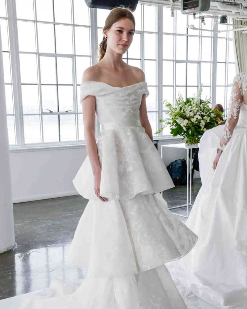 فساتين زفاف كورسيه لإطلالة متميزة