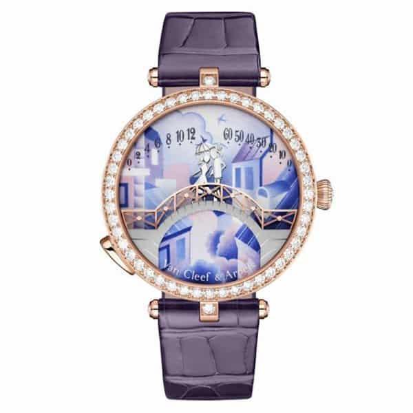 ساعة Lady Arpels Pont Des Amoureux من ماركة فان كليف أند أربلز Van Cleef & Arpels