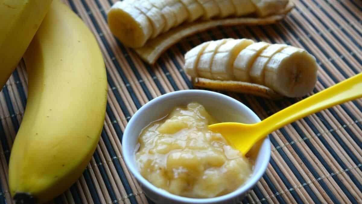 خلطة الموز والعسل والزبادي