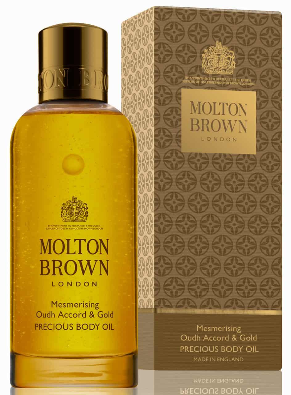 منتج Mesmerzing Oudh Accord&Gold Body Oil من ماركة مولتون براون Molton Brown