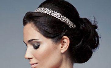أفكار مكياج للعروس صاحبة الشعر الأسود