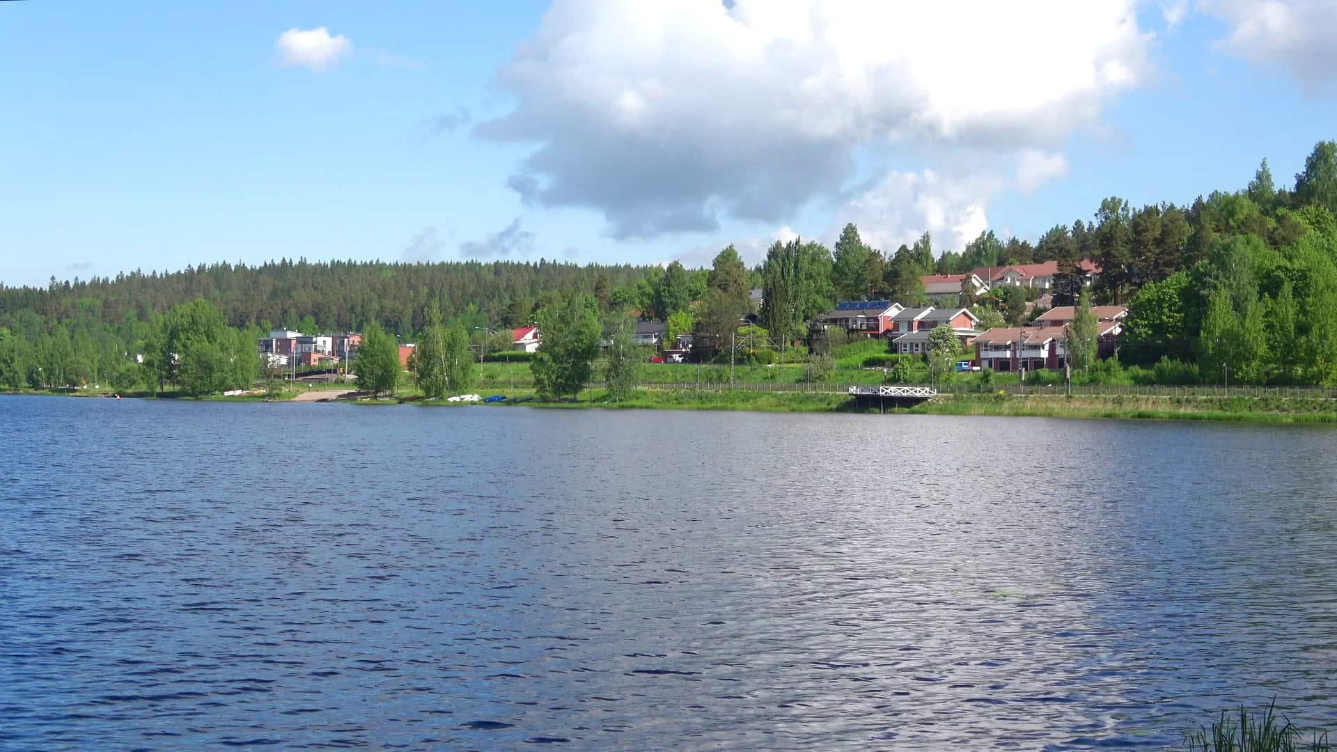 بحيرة كالافيسي Lake kallavesi