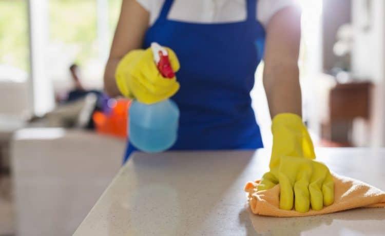 تنظيف الرخام من البقع