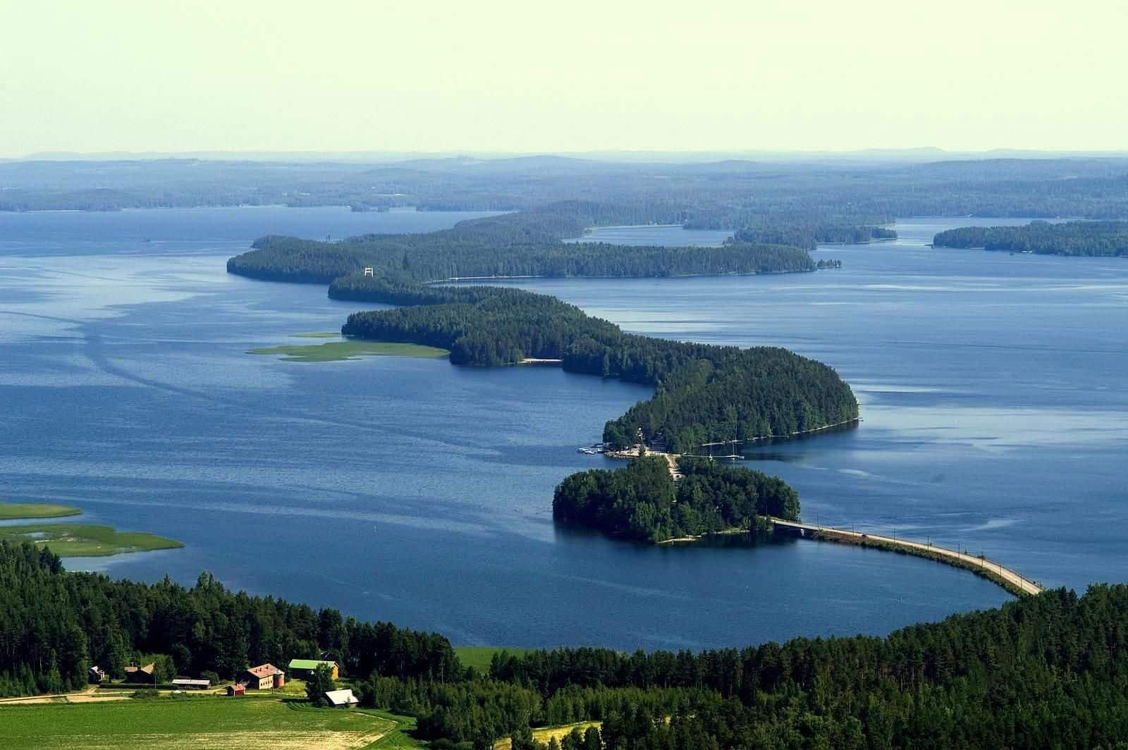 بحيرة بايجانني Lake Päijänne