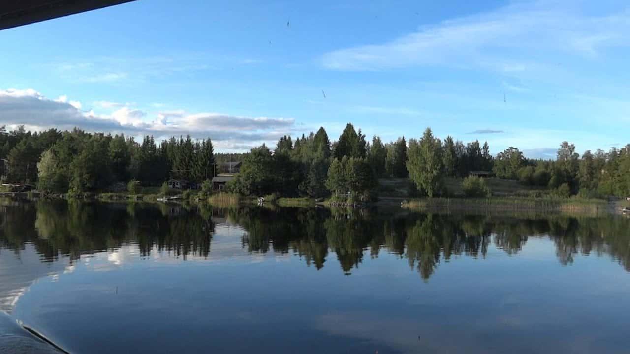 بحيرة سايما Saimaa Lake