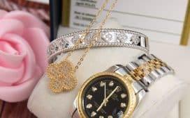 أجمل الساعات الذهبية