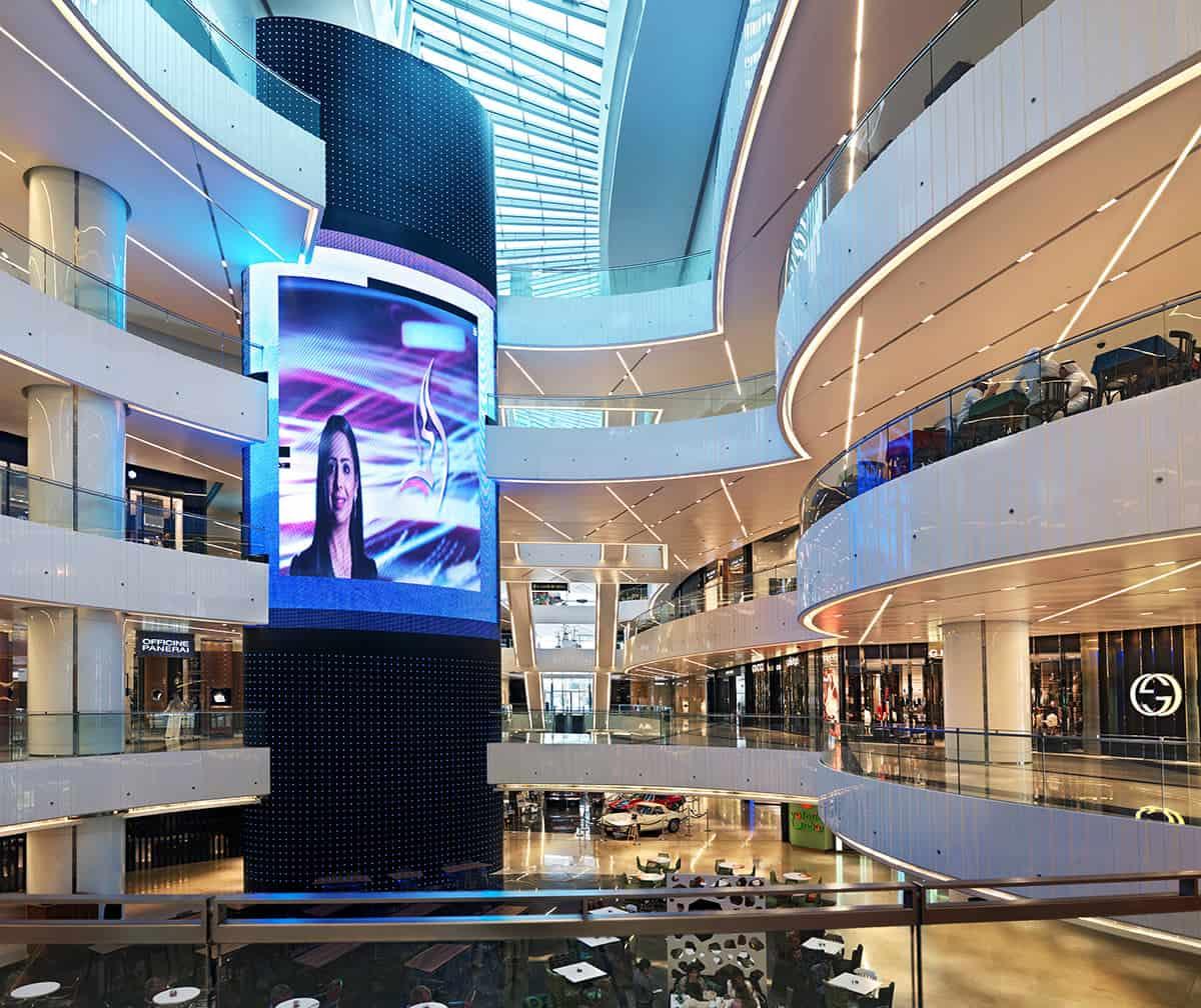 """مركز التسوق """"برج الحمرا"""" Al Hamra Shopping Center"""