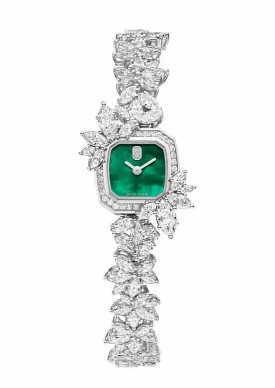 ساعة Precious Emerald من Harry Winston