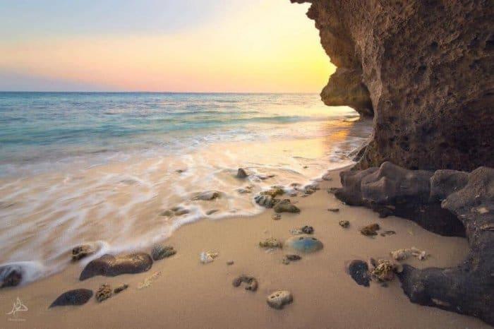 شواطئ جزيرة فرسان