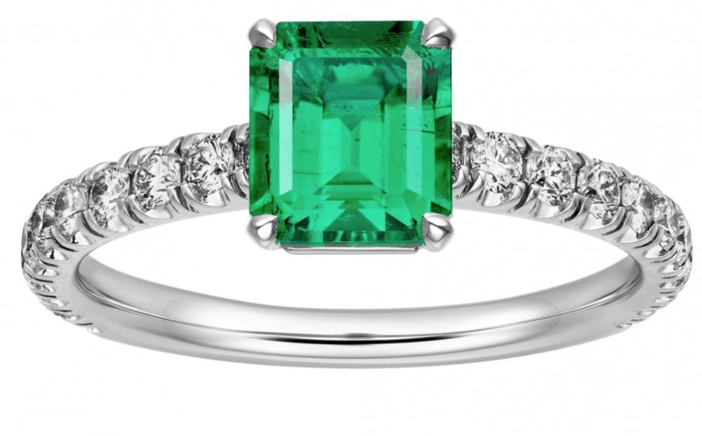 خاتم خطوبة من علامة كارتييه Cartier