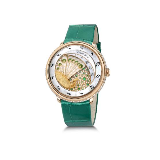 ساعة من علامة فابرجيه Faberge