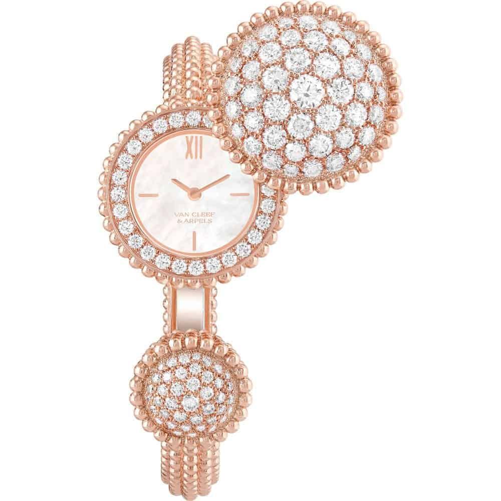 ساعة Perlée من Van Cleef & Arpels