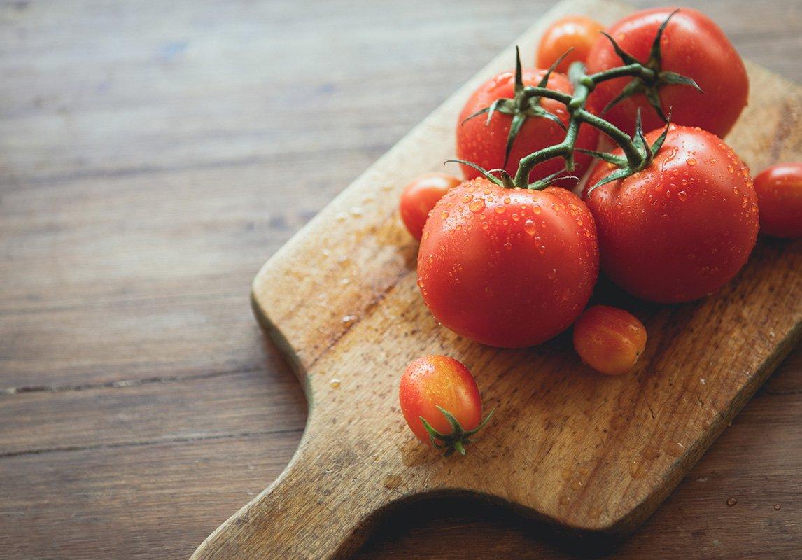 وصفة الطماطم وزيت الزيتون