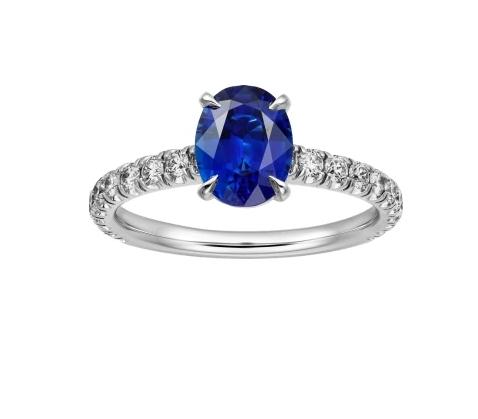 خاتم خطوبة من ماركة كارتييه Cartier