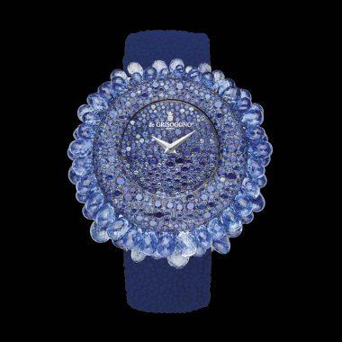 أجمل الساعات المزينة بالياقوت الأزرق