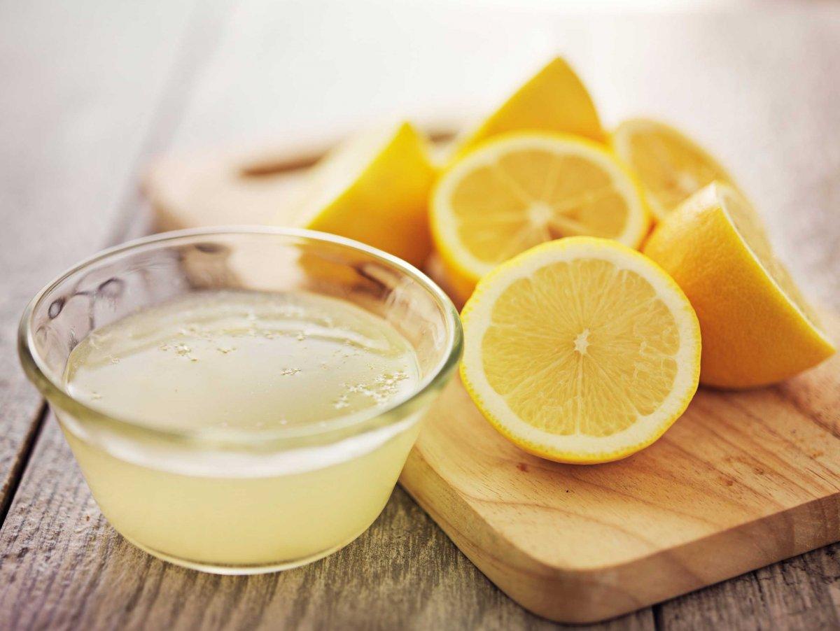 خلطة الخميرة والليمون