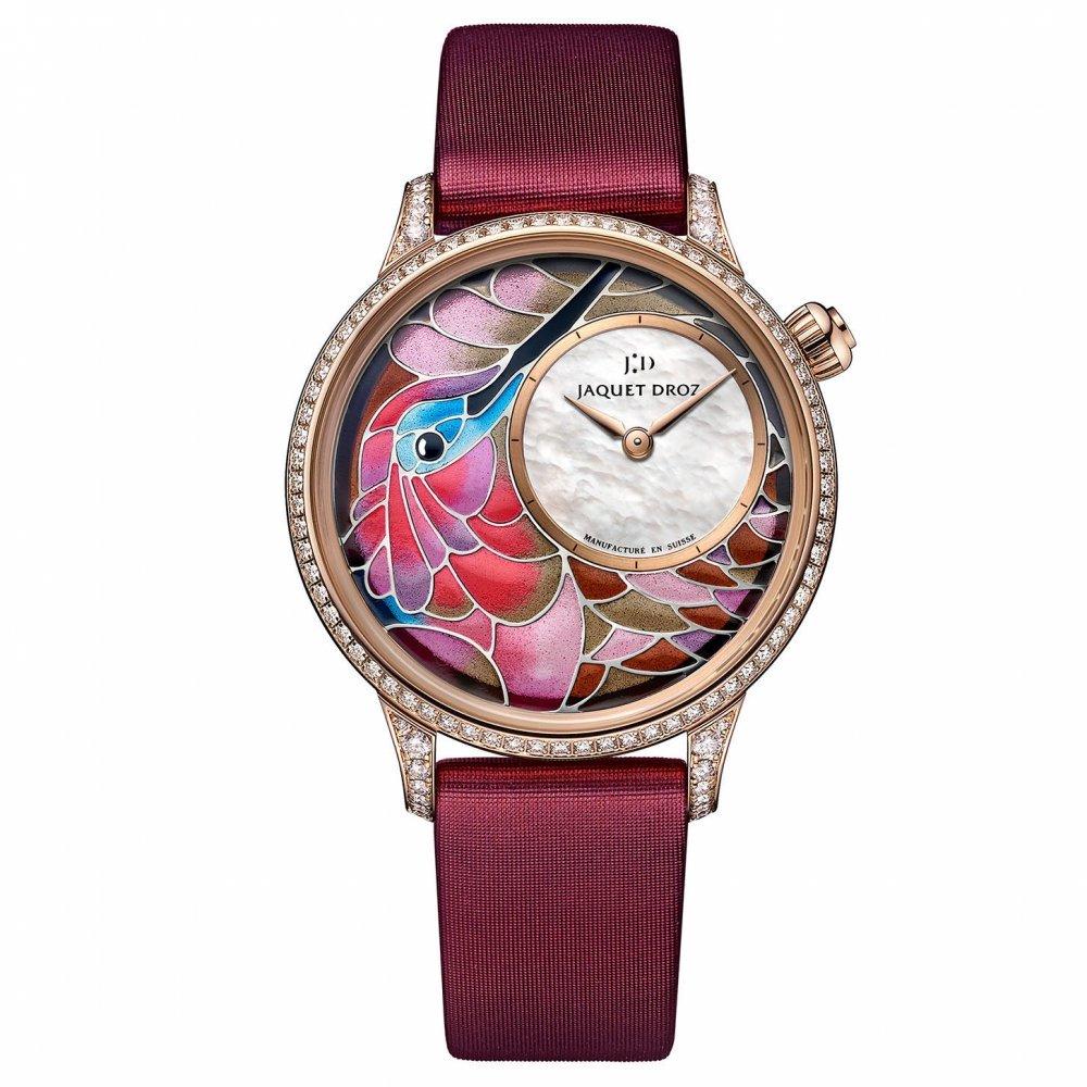 ساعة Petite Heure Minute من ماركة جاكيه دروز Jaquet Droz