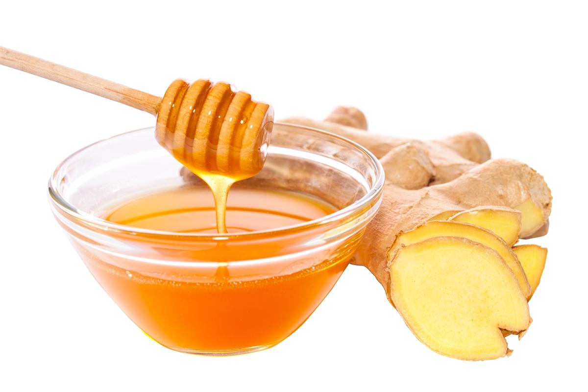 الزنجبيل، العسل، الثوم