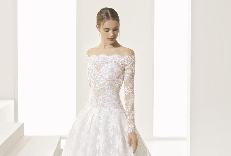 فستان زفاف من دانتيل