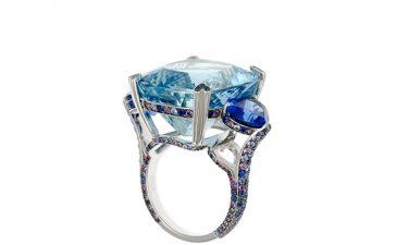 أجمل مجوهرات الأكوامارين