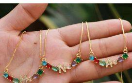 مجوهرات تتزين بألوان قوس قزح