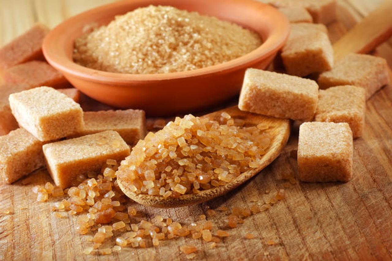 وصفة السكر البني والزيت