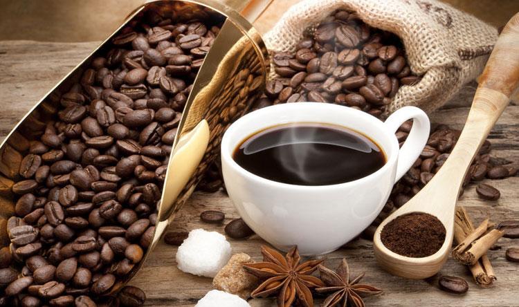 خلطة القهوة والشاي