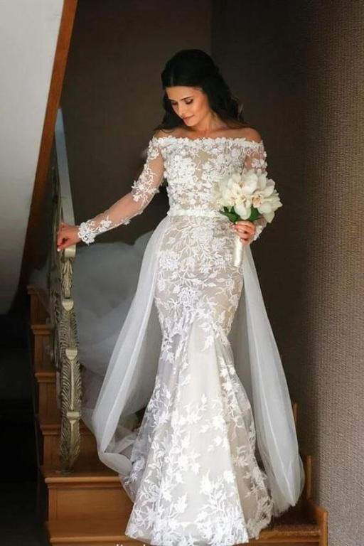 فستان زفاف قصير