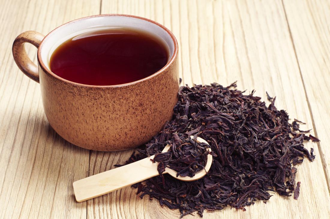 اعتماد الشاي كصبغة شعر