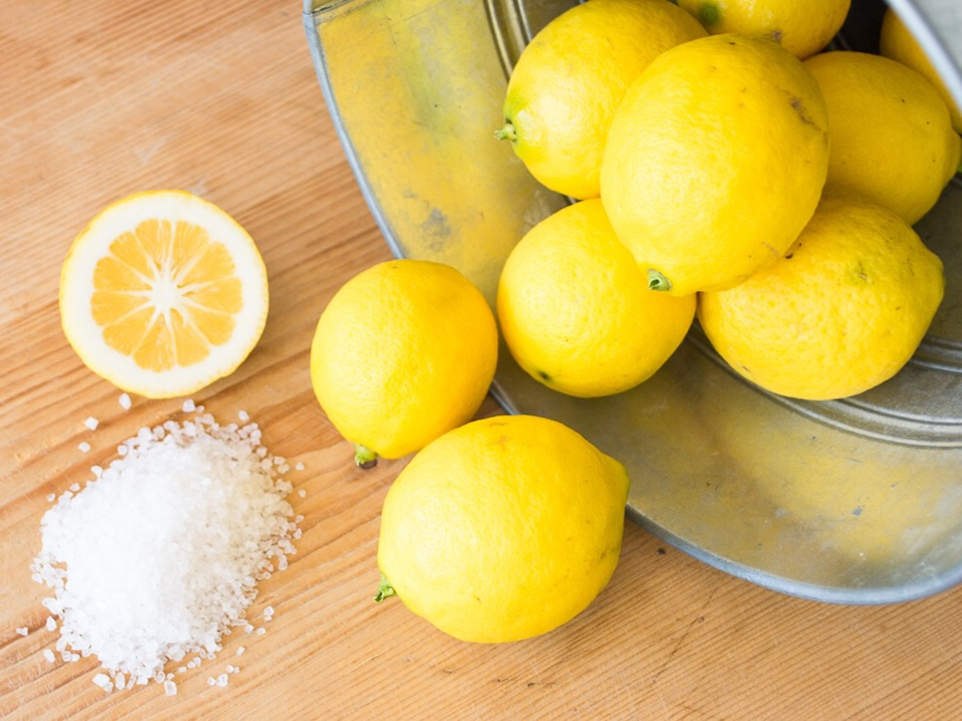 خلطة الليمون والملح