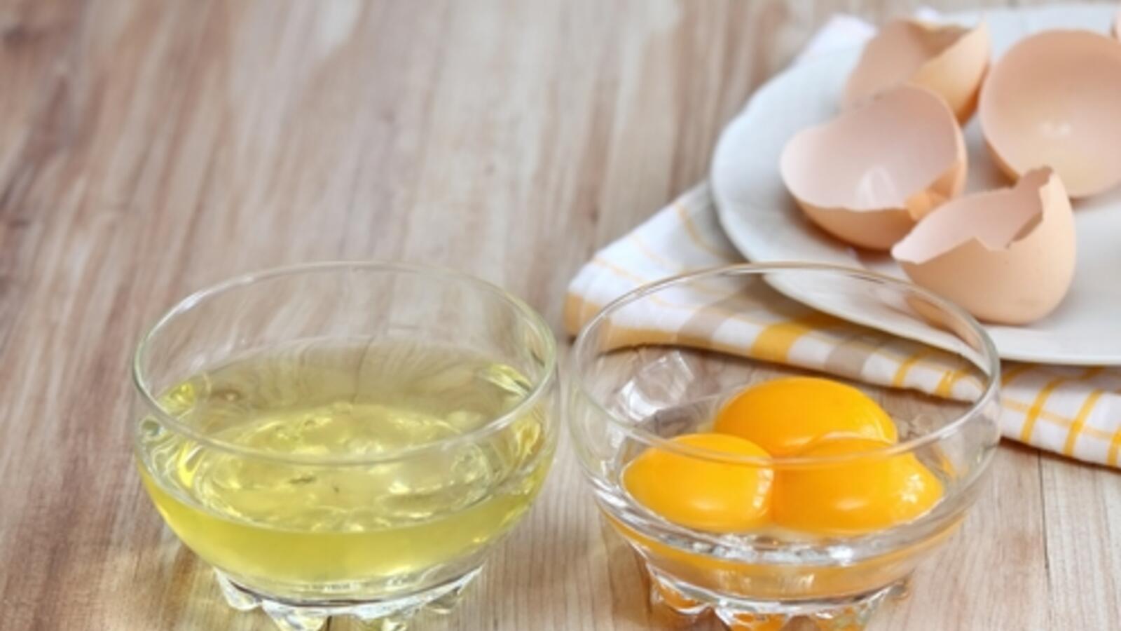 وصفة بياض البيض