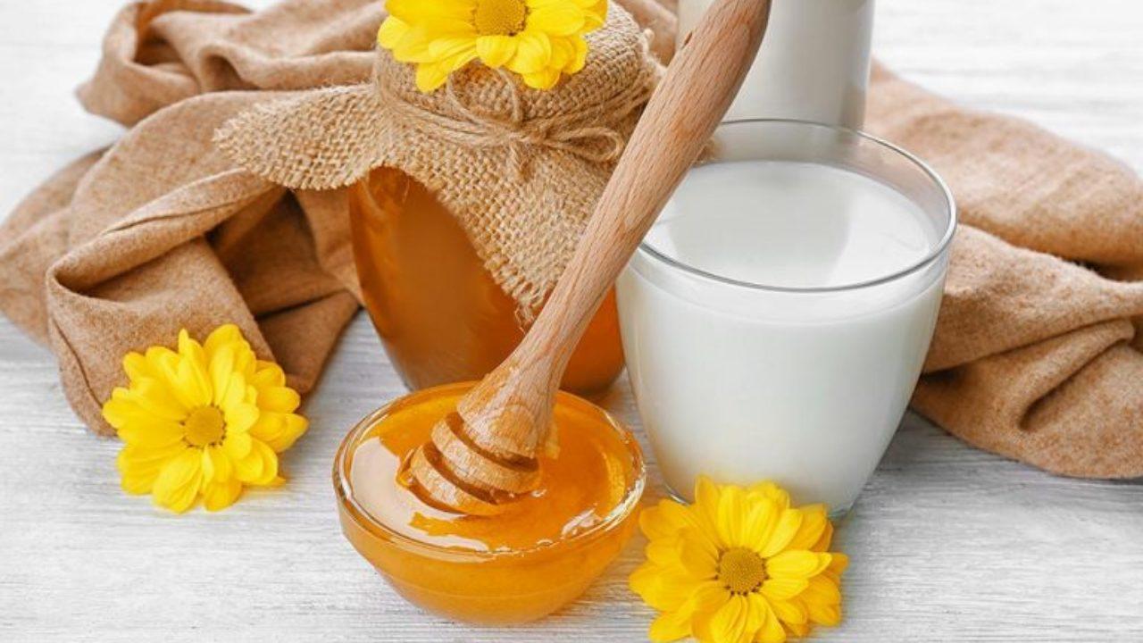 وصفة العسل والحليب