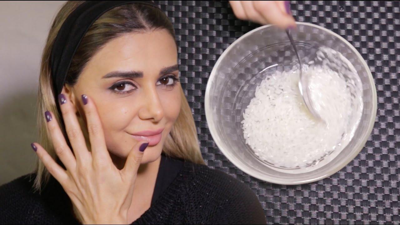 طرق استخدام ماء الأرز للبشرة
