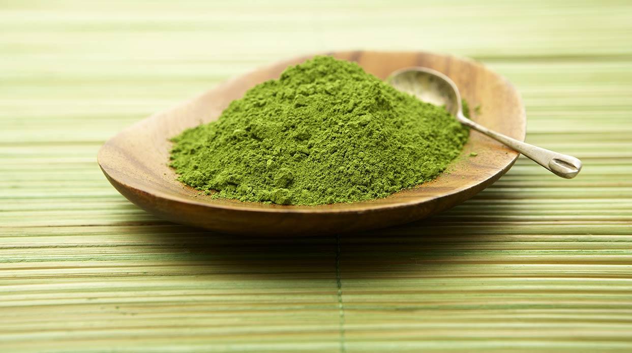 أقنعة الشاي الأخضر