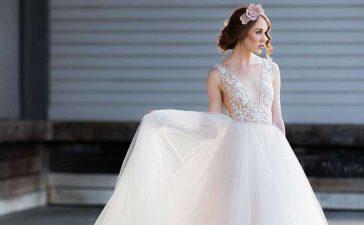 فساتين زفاف ناعمة لعروس مابعد الحجر الصحي
