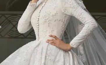فساتين زفاف محتشمة لإطلالة ملكية