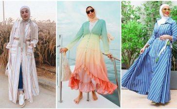 طرق مختلفة لتنسيق الفستان القميص