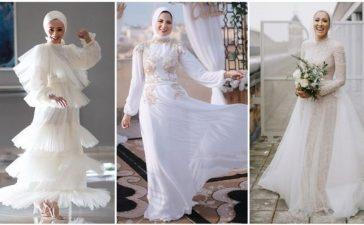شاهدي بالصور تصاميم فساتين زفاف خيالية