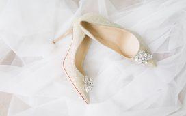 موديلات أحذية زفاف مريحة وجذابة لعروس صيف 2020