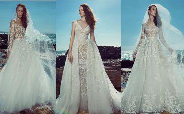 أفضل فساتين زفاف زهير مراد لموسم 2020